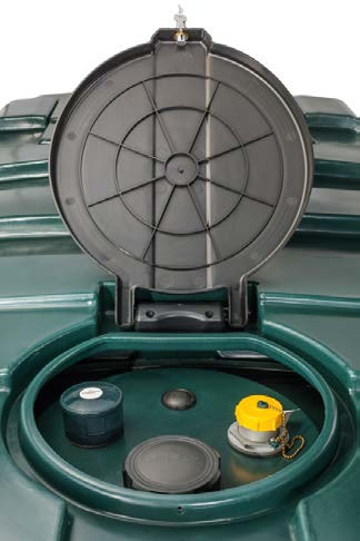 Lockable Lids for Oil Tanks